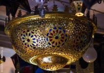 Lamp in Souk, Marrakech