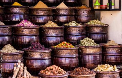Spices, souk of Marrakech