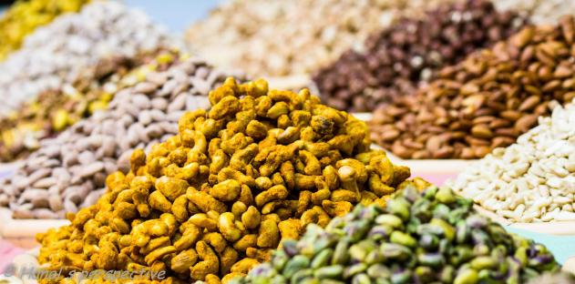 Nuts in Dubai Spice souk