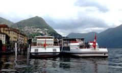 Lugano: Ship station at Lago Lugano