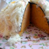 Cumhuriyet bayramı pastası; balkabaklı kubbe pasta
