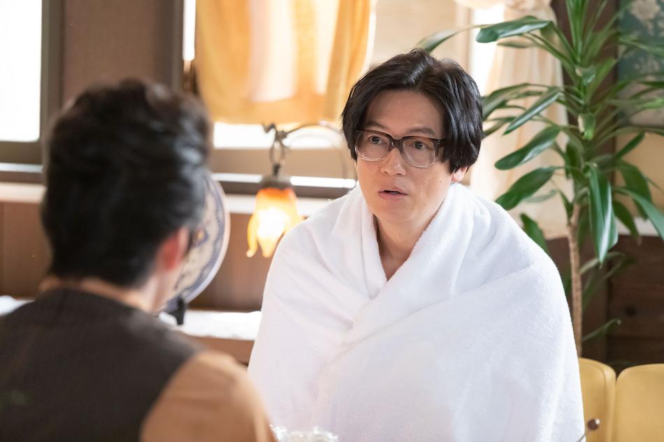 なつぞら 咲太郎、仲と話す