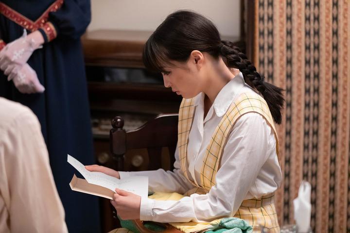 なつぞら なつ、咲太郎の手紙を読む