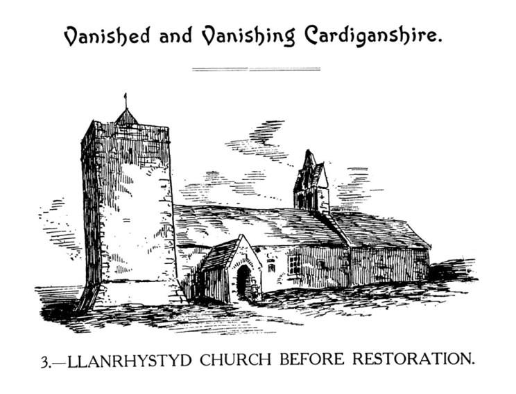 Vanished a Vanishing Aberteifi - Eglwys Llanrhystud cyn Adferiad