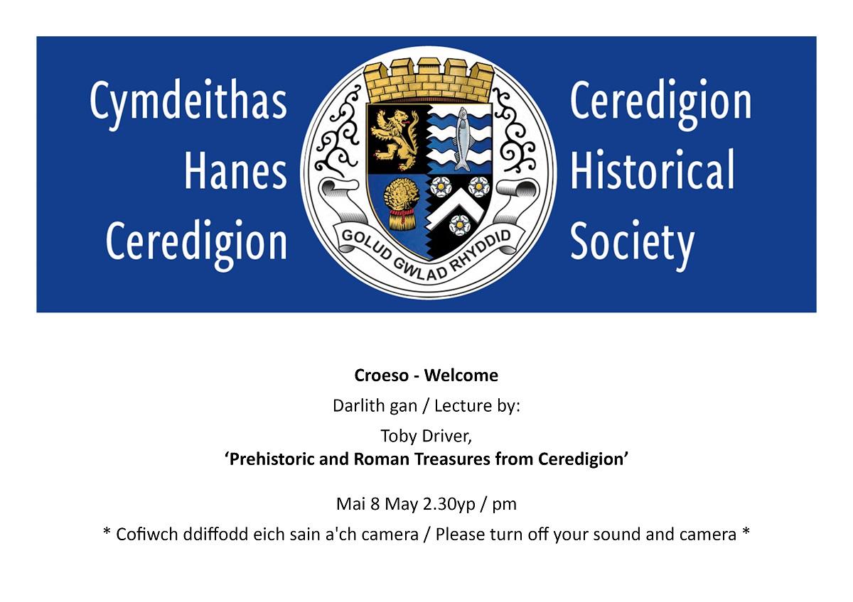Prehistoric and Roman Treasures from Ceredigion