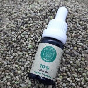 hanfsamenöl mit hanfaroma - 10% CBD Öl Hanfsamenöl