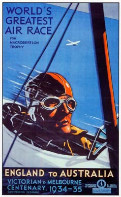 """Advertised as the """"World's Greatest Air Race,"""" no empty boast given the distances to be flown at high speed, the 1934 MacRobertson Air Race captured the imagination of aviation enthusiasts and laymen around the globe."""
