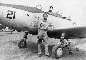 Pilot and PT-19B trainer