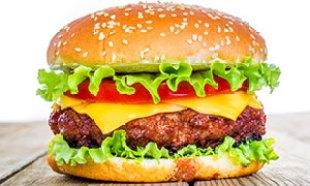hamburger with cheese