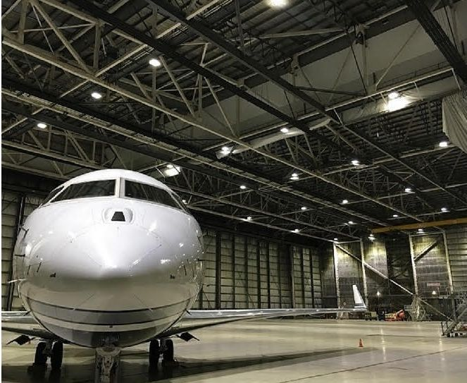 LED Airport Hangar Lighting