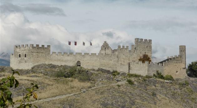 Sion il tourbillon castle
