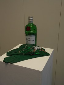 'Gin Gloves' for Karen Coughlan, 'Fabric of the City' exhibition