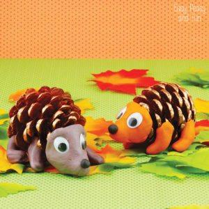 fall-Pinecone-Crafts-Pinecone-Hedgehogs