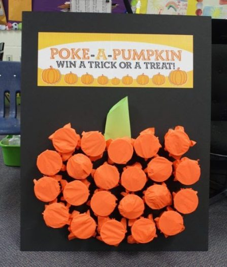 fall crafts Halloween party game