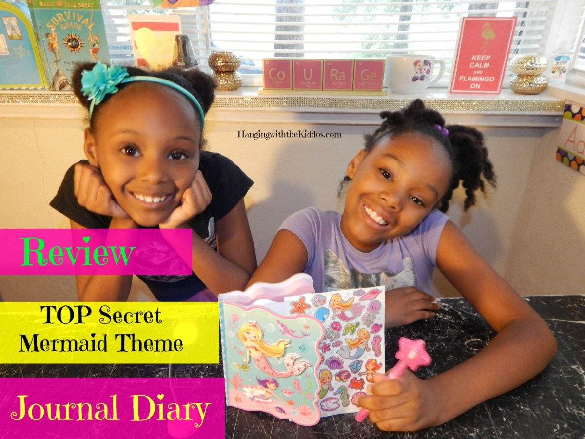 Gifts for Girls-TOP Secret Mermaid Theme Journal Diary REVIEW