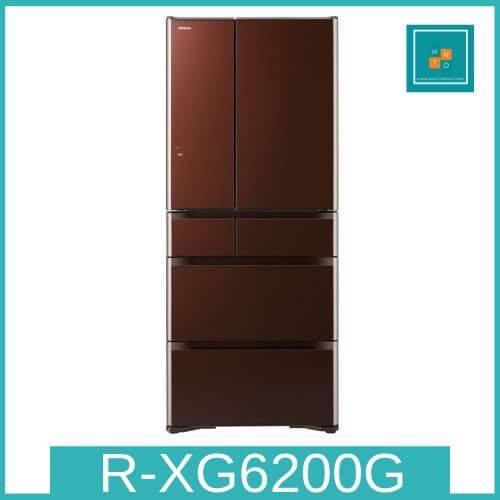 Tủ lạnh Hitachi R-XG6200G-ZT