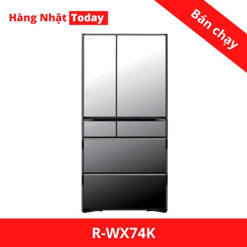 Tủ lạnh Hitachi R-WX74K-1