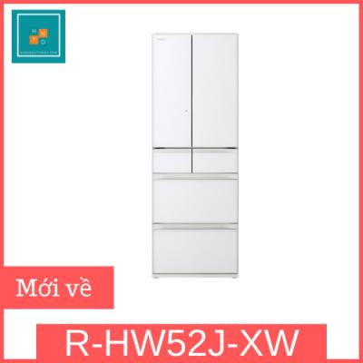 Tủ lạnh Nhật Hitachi R-HW52J-XW
