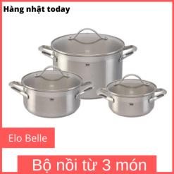 Bộ nồi từ Elo Belle 3 món