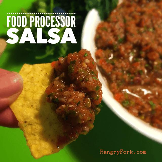 Food Processor Salsa
