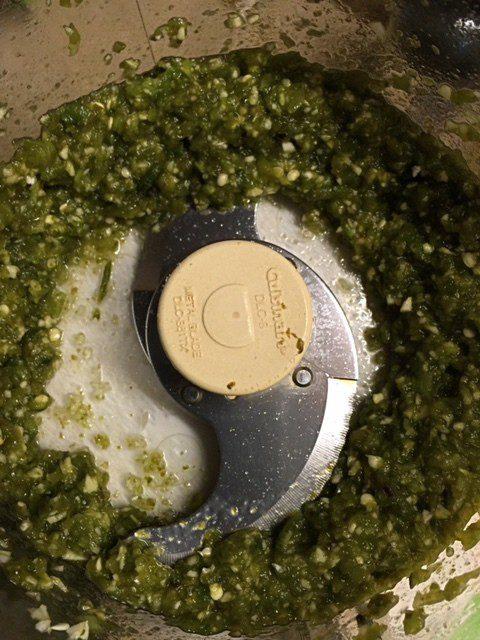 Easy Food Processor Salsa