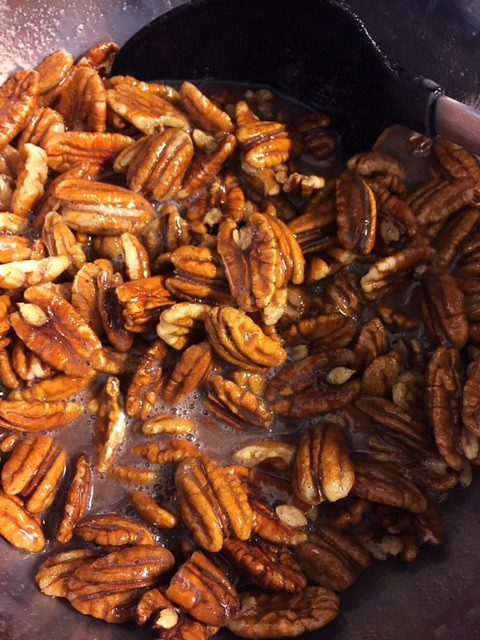 Recipe for Cinnamon Sugar Pecans