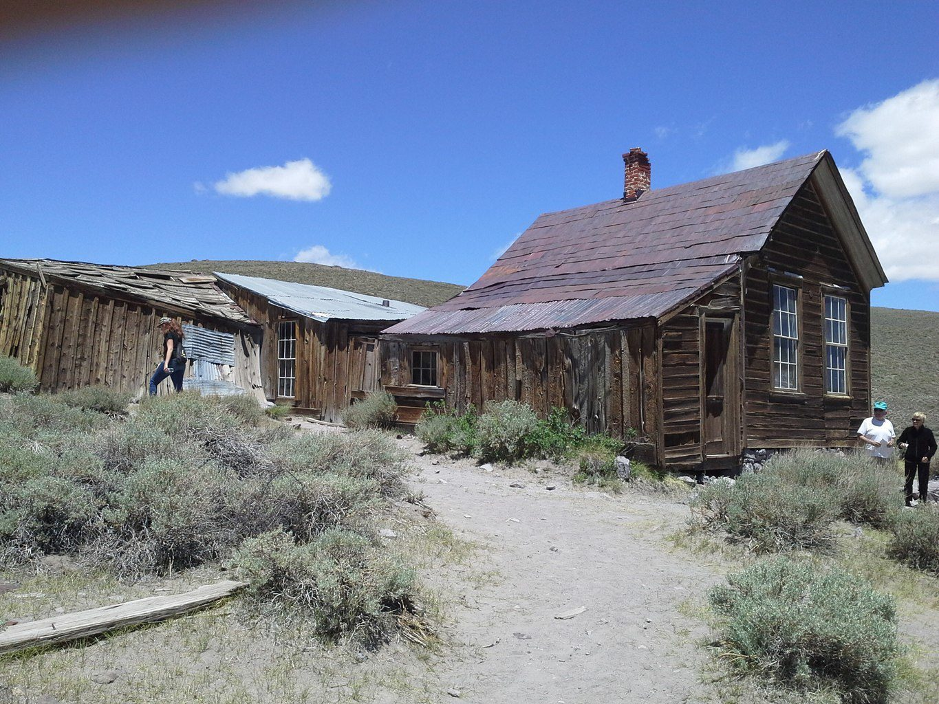 Bodie Ghost Town House