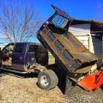 Ford Dually Dump Bed