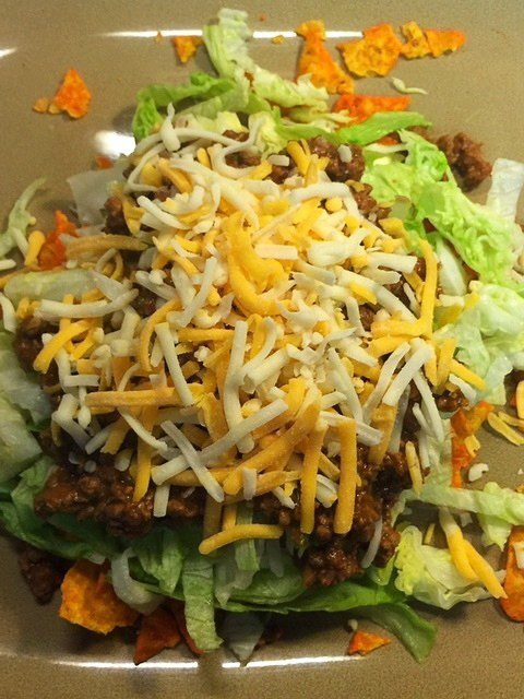Taco Salad With Cheese