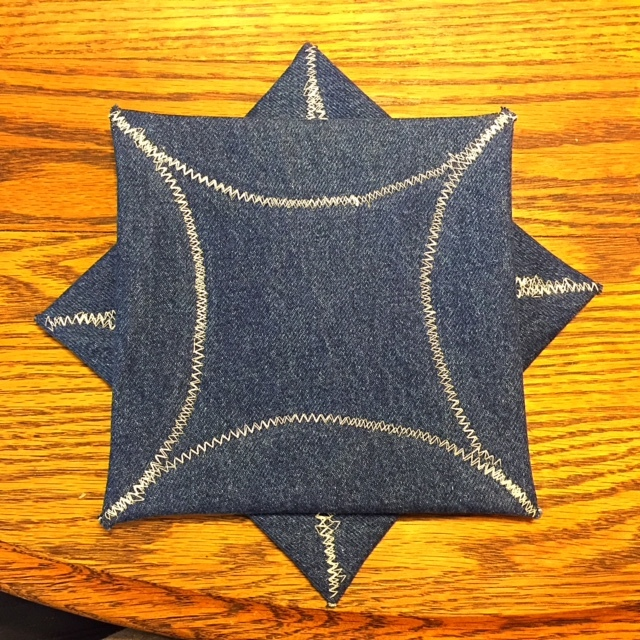 Back of Square Potholders