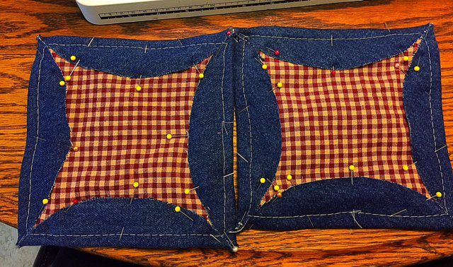 Baste Denim Potholders