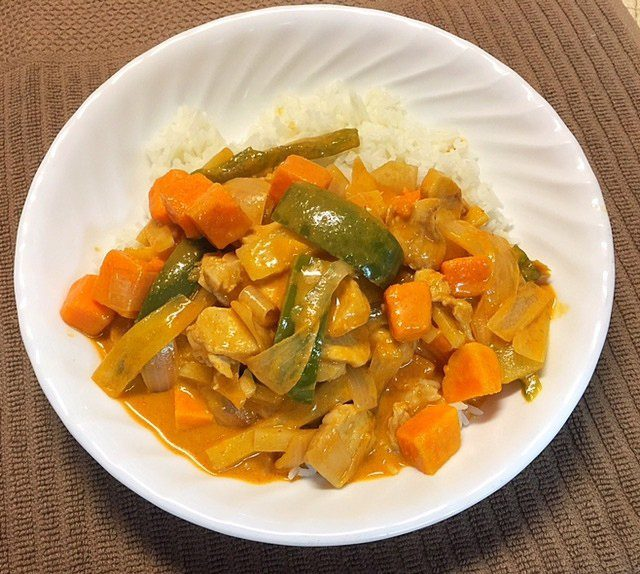 Easy Coconut Milk Chicken Curry