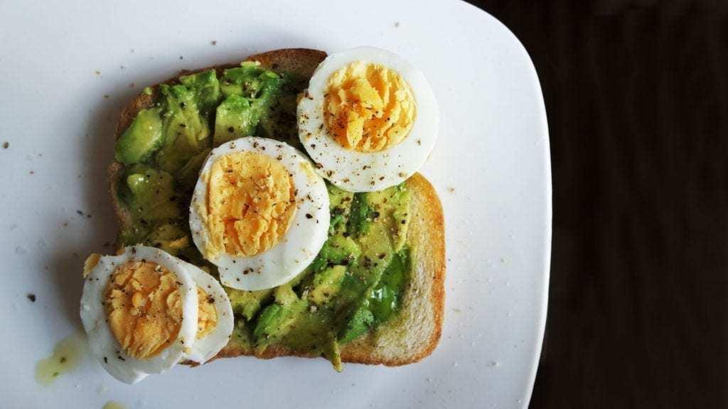 Diabetes Breakfast Avocado Toast
