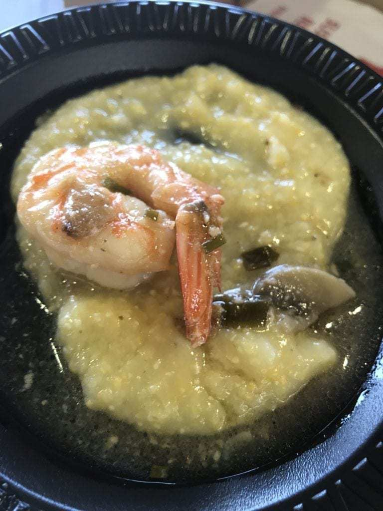 Ouise's Table Shrimp and Grits