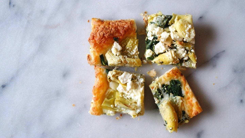 Spinach-Artichoke-Tart
