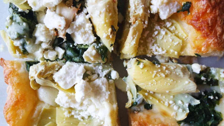 Spinach-Artichoke-Tarts