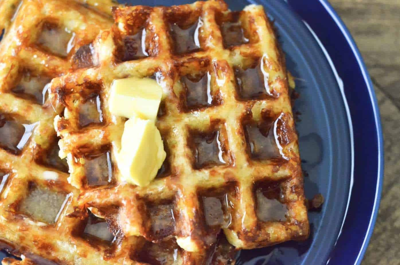 Keto waffles or chaffles