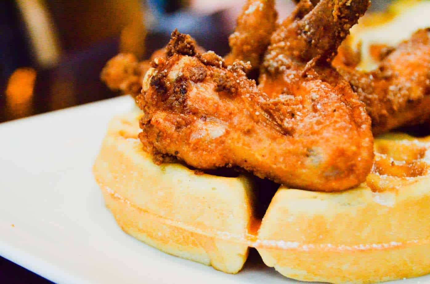 Max's Wine Dive Chicken and Waffles