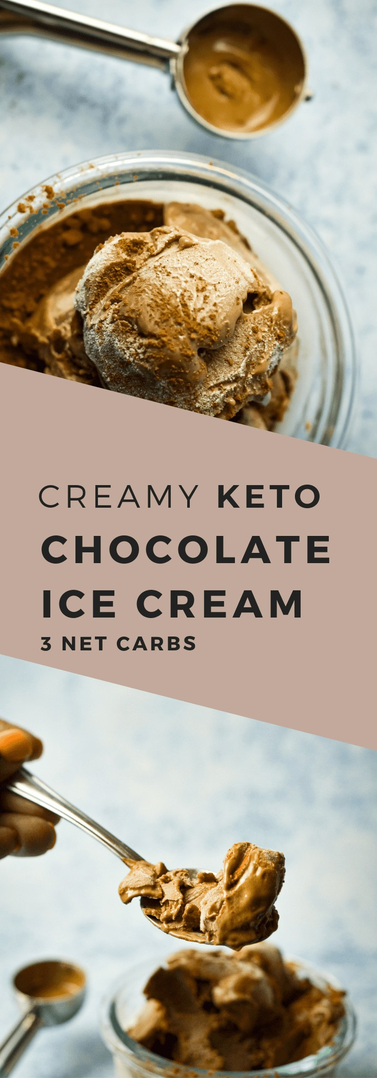 Keto/Low Carb Chocolate Ice cream