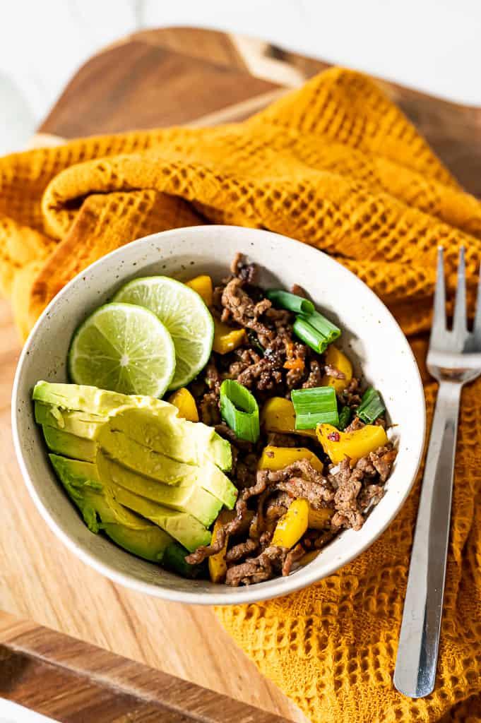Jamaican Jerk Beef Bowl