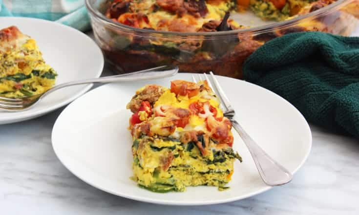low carb breakfast casserole recipe