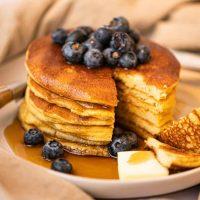 diabetic friendly almond flour pancake