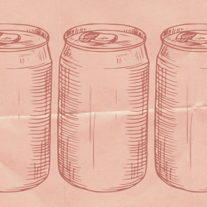 diet soda drawings
