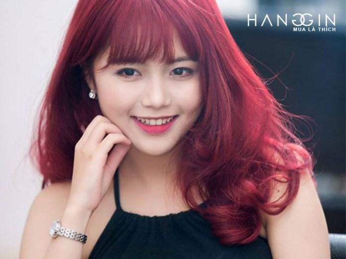 Giữ màu tóc nhuộm đỏ bền đẹp
