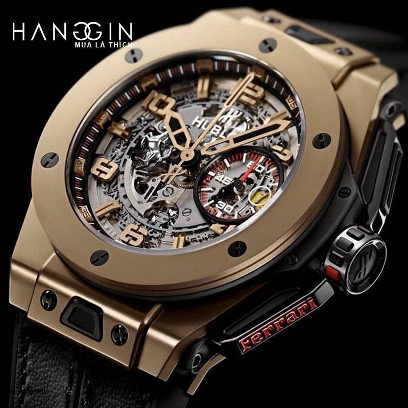 Hublot Big Bang Ferrari Magic Gold - 1