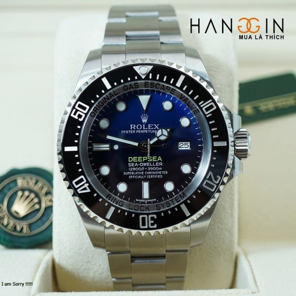 Rolex 116660 dbl Sea-Dweller DEEP SEA Blue