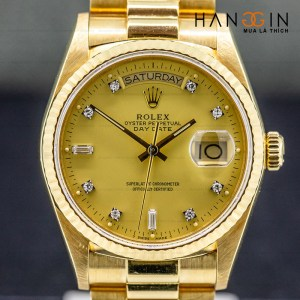 Rolex 18038 DAY-DATE Champagne