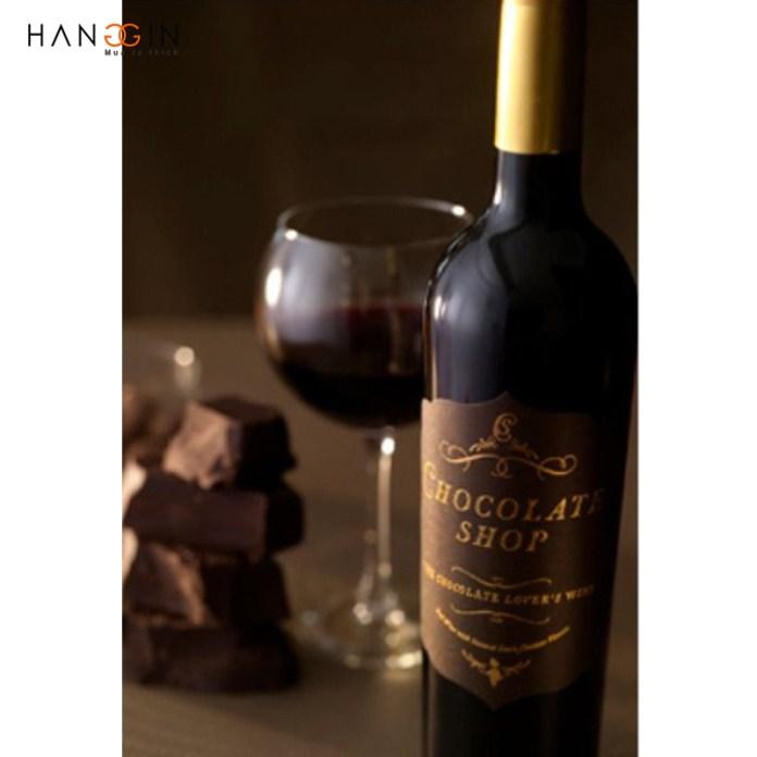 Rượu Vang đỏ Chocolate Shop Lover's Wine Natural Dark Chocolate