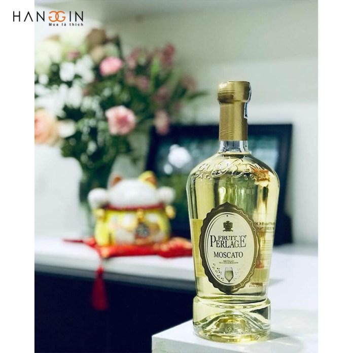 Rượu vang trắng Moscato Perlage Dolce Pavia Fruit I.G.P