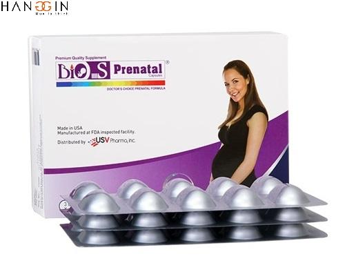 Bio S Prenatal thích hợp cho bà mẹ đang mang bầu đảm bảo sức khỏe